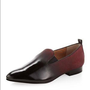 (Black-Maroon) Modern Vintage 'Helena' loafer